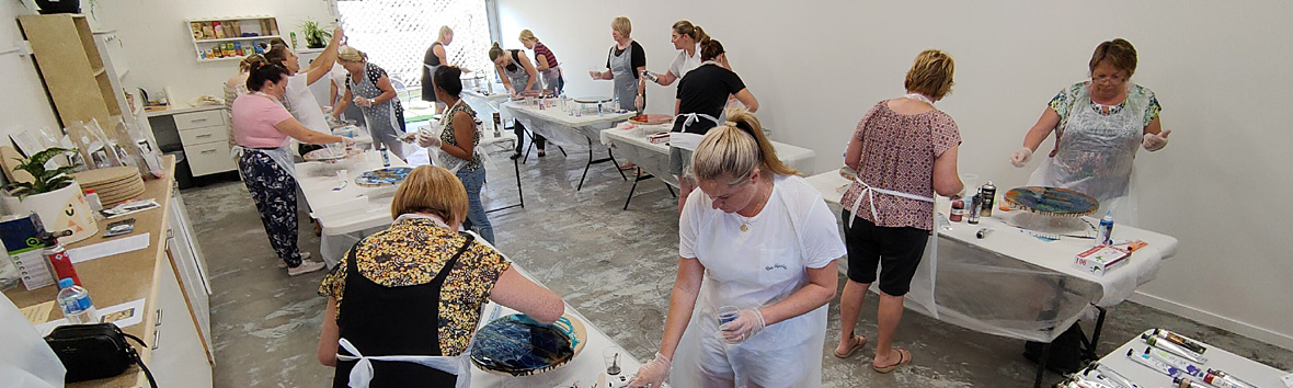 Gold Coast Art Classes at Framed Just For You