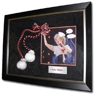 Framed Bette Midler Memorabilia by Framed Just For You