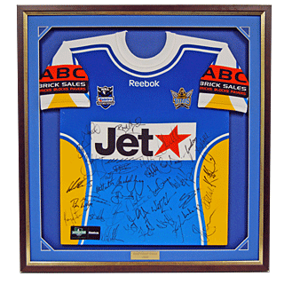 Framed Titans NRL Jersey by Framed Just For You
