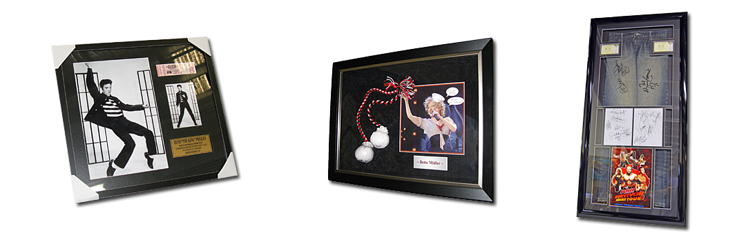 Memorabilia Framing Gold Coast at Framed Just For You